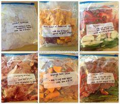 RYH Freezer meals post pregnancy http://rockyourhormones.com/freezer-meals-busy-people-baby/