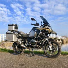BMW Motorrad R1200 GS Adventure Green Offroad, Purpose, Motorcycle, Bike, Adventure, Vehicles, Green, Cars, Motorbikes