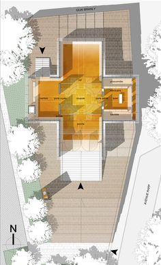 Russian Orthodox Church in Paris / Ameller & Dubois Associates,Floor Plan