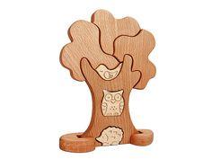 Деревянный пазл Дерево, игра пазл дерево, деревянные игрушки