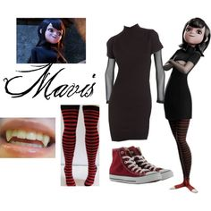 Mavis Cosplay by flowerselle on Polyvore