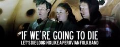 Amy Challenges the Doc in a battle of wits (dr who,11th,amy,rory,funny,humor,gif)