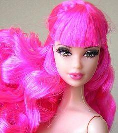 Tarina Barbie  i want my hair to look like this!