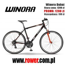 Bestseller cenowy w kategorii Rowery Crossowe: Winora Dubai. http://rower.com.pl/-p-331650.html