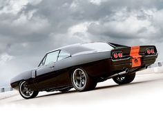 Dodge Charger RT 1970 Inky Black - Yes. My dream car, without the red.