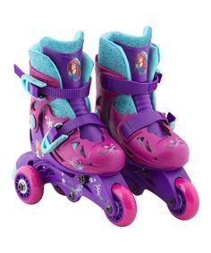 Look at this #zulilyfind! Little Mermaid Convertible Skates - Kids by Disney Princess #zulilyfinds