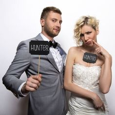 Get some great props for a homemade photobooth. Create some great memories with these quirky props to entertain your guests. Wedding Photo Booth Props, Party Props, Accessoires Photobooth, Chalkboard Party, Baby Shower, Great Memories, Wedding Decorations, Wedding Day, Wedding Photography