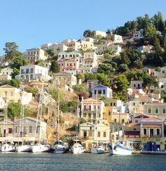 Stunning Symi Sailing Day, Istanbul, Dolores Park, Mansions, House Styles, Places, Travel, Home Decor, Viajes