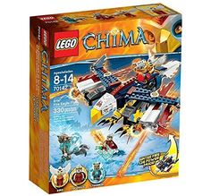 Lego Legends of Chima: Eris' Fire Eagle Flyer (70142)  Manufacturer: LEGO Enarxis Code: 014118 #toys #Lego #Chima
