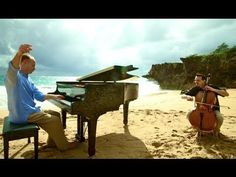 This will make you smile-the happiest musicians in the world! Over the Rainbow/Simple Gifts (Piano/Cello Cover) - ThePianoGuys - YouTube