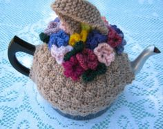 Items similar to Chicken Teapot Cozy Hand Knitted on Etsy
