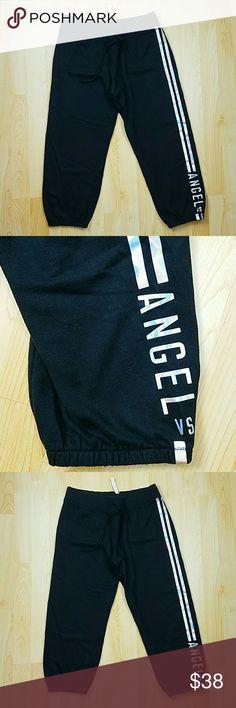 Victoria's secret crop angel VS sweat pants Victoria's secret crop angel VS sweat pants Victoria's Secret Pants Track Pants & Joggers