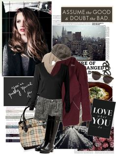 """""""Assume The Good & Dought The Bad."""" by angieinwonderland ❤ liked on Polyvore"""