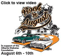 Rock'n August, one of the largest celebrations of classic cars and music in Western Canada. Diabetes Foundation, Event Flyers, View Video, Local Events, Car Show, Classic Cars, Cruise, Alberta Canada, Trucks