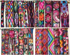 I love how colorful Guatemalan belts are.
