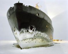 "casadabiqueira: "" Gulf of Bothnia, Lapland Luca Campigotto, 2003 "" Night Photography, Fine Art Photography, Landscape Photography, Architectural Photography, Amazing Pics, Beautiful Pictures, York Art Gallery, Fantastic Voyage, New York Art"