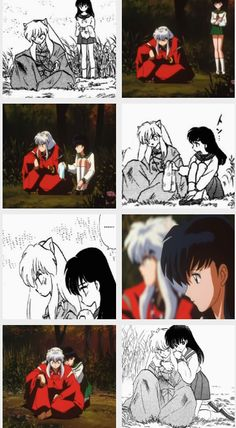 """""""Inuyasha... It's painful, isn't it? I understand."""""""