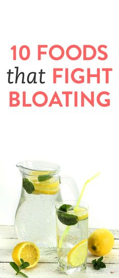 10 foods that reduce bloating via @bustledotcom