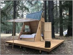 Star A-Body Tiny Cabin, Cedar Bloom, OR: 13 Hipcamper opinions and 56 photographs Tiny Cabins, Tiny House Cabin, Rustic Cabins, A Frame House, Backyard Projects, Backyard Ideas, Rustic Design, Play Houses, Villa