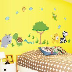 Room decor falmatrica gyerekeknek