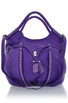 MODALU BLONDIE Violet Medium Grab Bag - BAGS | SHOULDER BAGS | Day | PRET-A-BEAUTE.COM