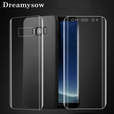 Front Back Soft Screen Protector For Samsung Galaxy Note 9 8 plus Edge PET Film Full Cover (Not tempered Glass)(China) Galaxy Note 9, Samsung Galaxy Note 8, Galaxy S7, Used Mobile Phones, Phone Screen Protector, S8 Plus, Cleaning Kit, S7 Edge, Iphone