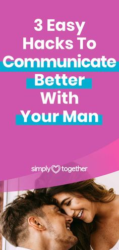 Being able to effectively communicate with your partner helps avoiding conflicts, prevents misunderstandings, allows for trust to build in your relationship, and deepens your emotional connection. In this article, I'm going to share with you three simple hacks, that I use on a daily basis to communicate effectively in my relationship.   #Communication #RelationshipAdvice Relationship Advice, Relationships, Understanding Men, Say Word, Social Media Buttons, Active Listening, Important Things In Life, Emotional Connection, Effective Communication
