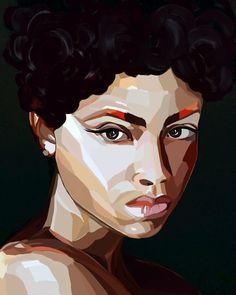 #illustration #girl #face #digitalart #art
