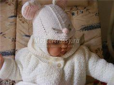 детская шапочка мышонок мастер-класс с пошаговым фото