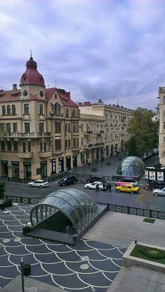 Trade street, Baku (torgovaya)