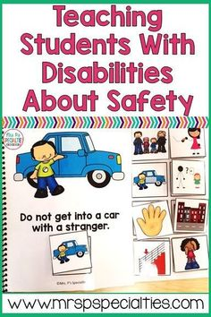 Teaching students with disabilities about safety is crucial but can be too abstract for students. Here are some tips on how to breakdown and teach these crucial life skills. Life Skills Lessons, Life Skills Classroom, Teaching Life Skills, Social Skills Activities, Autism Activities, Autism Classroom, Sorting Activities, Classroom Setup, Teaching Safety