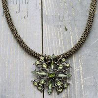 Enchanting Emerald City Necklace