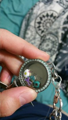 A locket for epilepsy awareness to remind those that have epilepsy to be brave and strong!