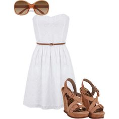 simple, created by mamie2shoes on Polyvore