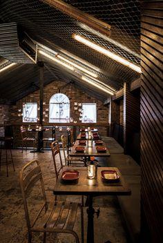 Donny's Bar in Sydney, Australia, designed by Luchetti Krelle • Design Father