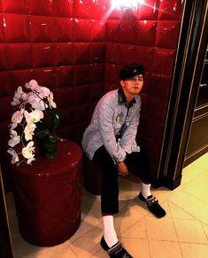 G Dragon Instagram, G Dragon Fashion, Bigbang G Dragon, Ji Yong, Daesung, Yg Entertainment, Bad Boys, Boy Groups, Bangs