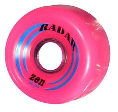 acd4bf12c032 Radar Zen Roller Skate wheels 62mm wheels - Pink - 8 pack by Riedell. $29.95