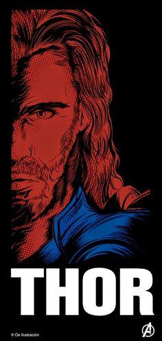 The Avengers - Thor Marvel Comics, Marvel Comic Universe, Marvel Heroes, Marvel Cinematic Universe, Marvel Avengers, Dc Universe, Stan Lee, Deadpool, The Mighty Thor