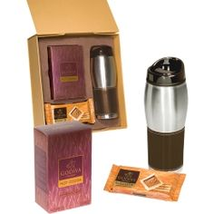 Logoed Godiva® Gift Set ...a great winter treat! @Staples Promotional Products
