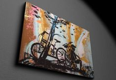 Bike - Canvas X 23, Bike, Canvas, Home Decor, Bicycle, Tela, Decoration Home, Room Decor, Bicycles