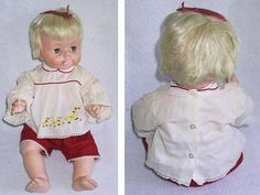 Baby Boo, a favorite doll of mine. I remember getting her for Christmas!