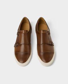 87f94217e409a Imagem 1 de SAPATILHA FIVELAS da Zara Monk Strap Shoes
