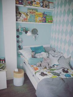 Skandinavian kids room www.nattu.pl