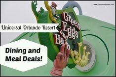 Universal Orlando Resort Meal Deals & other dining options Universal's options for prepaid meals and Universal dining plans, drink plans