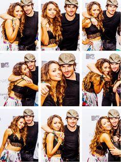 Kat & Ian somerhalder