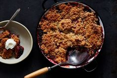 Marian Burros' Plum Crumble recipe on Food52