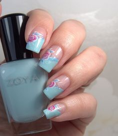 Charming Nails Blog - Zoya delight & Lillian