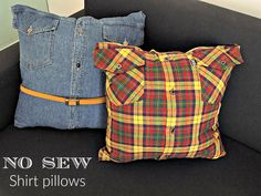 Art Decoration and Crafting: Εύκολα μαξιλάρια χωρίς ράψιμο