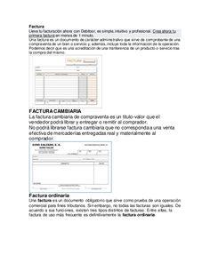 Factura Lleva tu facturación ahora con Debitoor, es simple, intuitivo y…