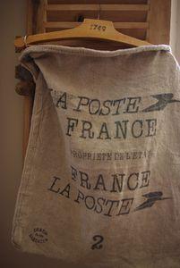 authentic french postal mail bag, not an imitation!!!